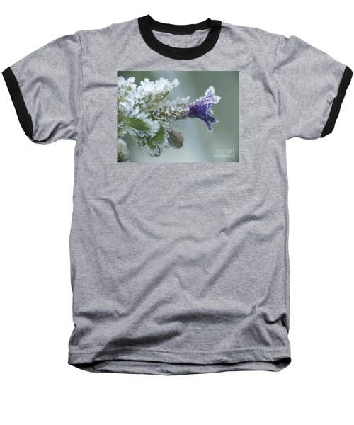 Frosty Flower Baseball T-Shirt