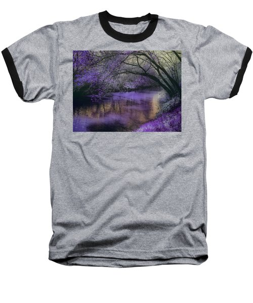 Frosty Lilac Wilderness Baseball T-Shirt
