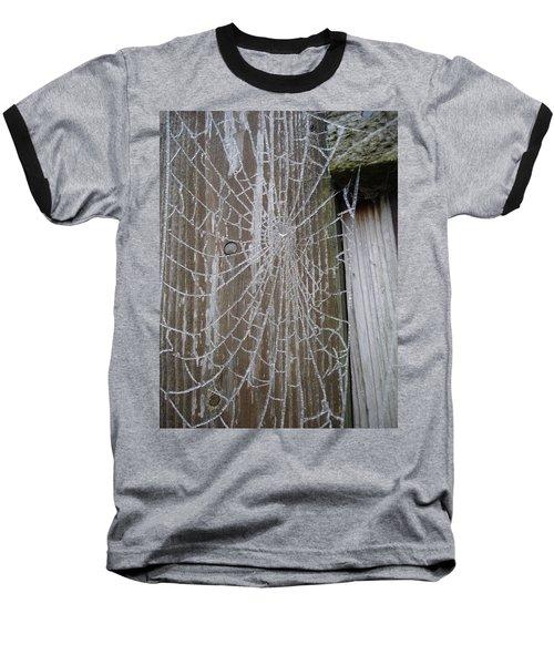 Frosty Web Baseball T-Shirt