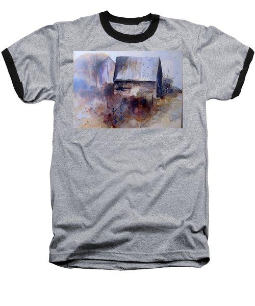 Frozen Barn Baseball T-Shirt