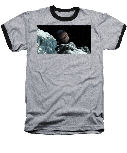 Frozen Blue Gem Baseball T-Shirt