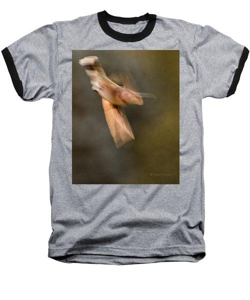 ...frozen Flight Hummingbird.... Baseball T-Shirt