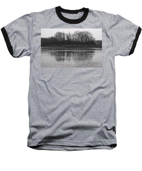 Frozen Forest Baseball T-Shirt
