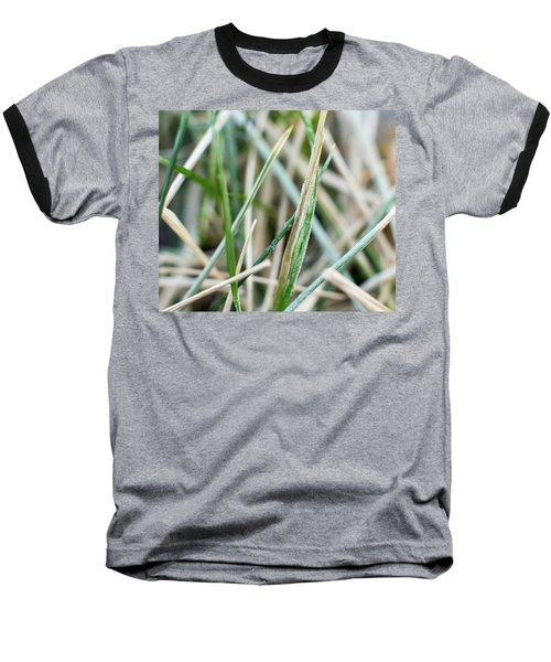 Frozen Grass Baseball T-Shirt