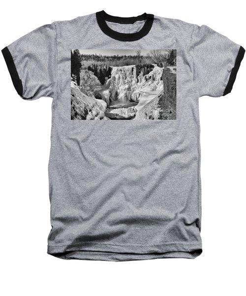 Frozen High Falls Baseball T-Shirt