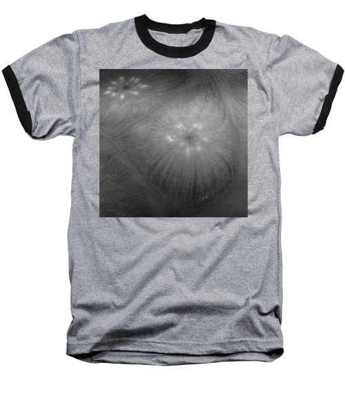 Frozen Ice Star Burst Baseball T-Shirt