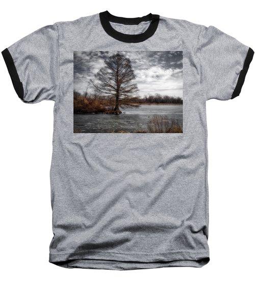 Frozen Lake Baseball T-Shirt