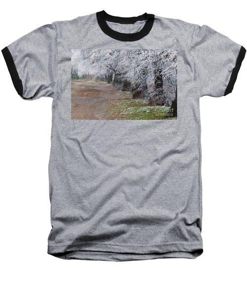 Frozen Pathway Baseball T-Shirt