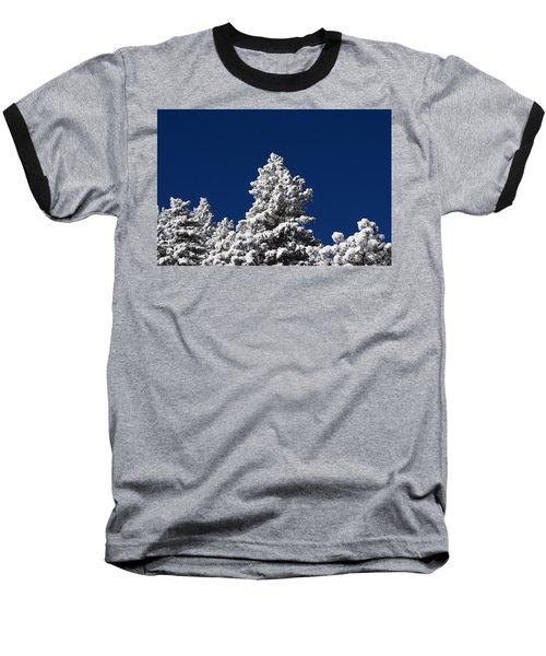 Frozen Tranquility Ute Pass Cos Co Baseball T-Shirt