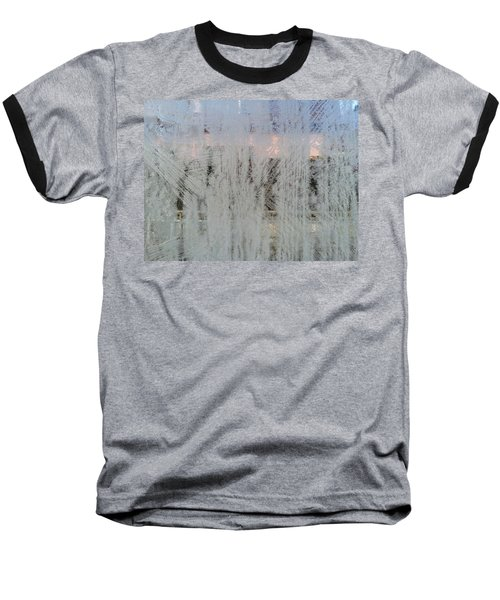 Frozen Window Baseball T-Shirt