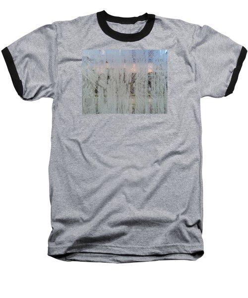 Frozen Window Baseball T-Shirt