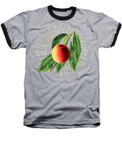 Baseball T-Shirt featuring the digital art Fruit 0100 by Ericamaxine Price
