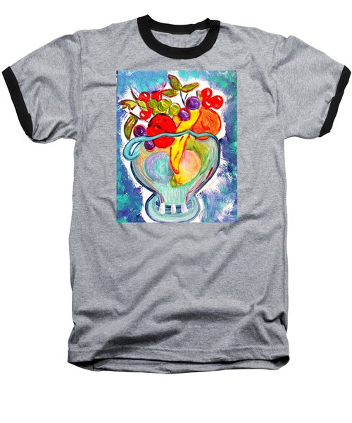 Fruit Bowl Baseball T-Shirt