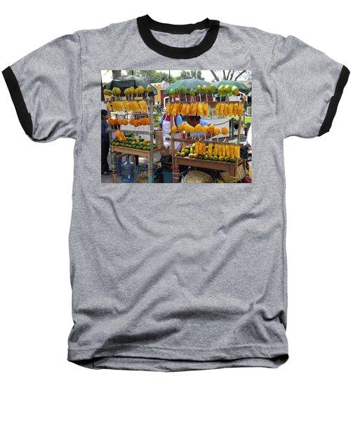 Fruit Stand Antigua  Guatemala Baseball T-Shirt