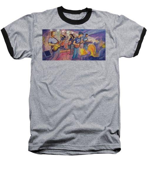 Fruition At The Barkley Ballroom Baseball T-Shirt by David Sockrider