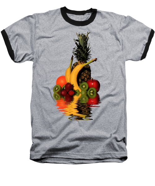 Fruity Reflections - Medium Baseball T-Shirt