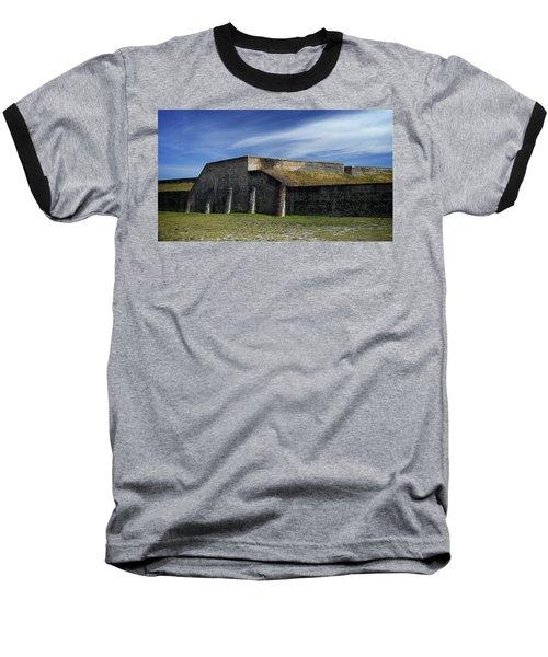 Ft. Pickens Moat Baseball T-Shirt