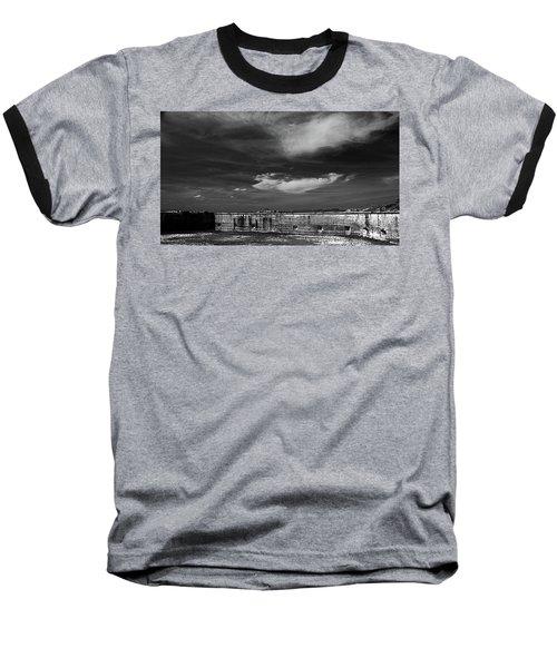 Ft. Pickens Sky Baseball T-Shirt