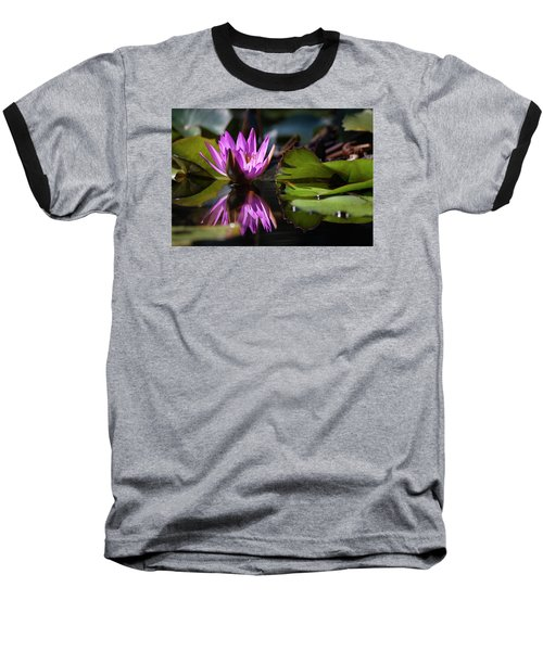 Baseball T-Shirt featuring the photograph Fuchsia Dreams by Suzanne Gaff