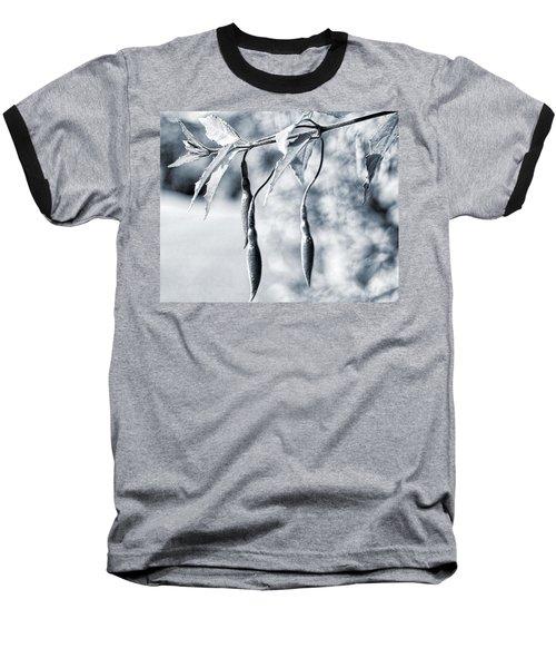 Fuchsia  Baseball T-Shirt by Keith Elliott