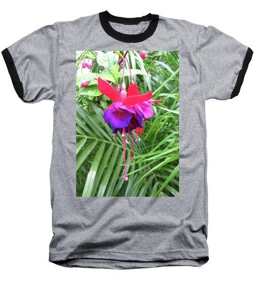 Baseball T-Shirt featuring the photograph Fuchsia by Mary Ellen Frazee