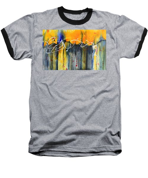 Fueled By The Wind Baseball T-Shirt by Nancy Jolley