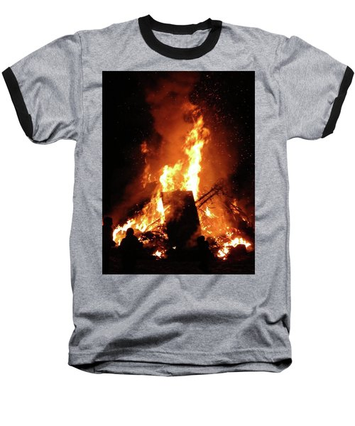 Full Bonfire Baseball T-Shirt