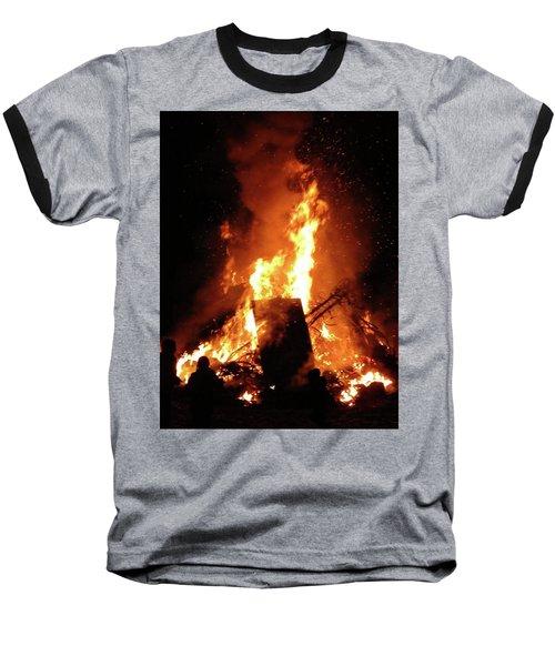 Full Bonfire Baseball T-Shirt