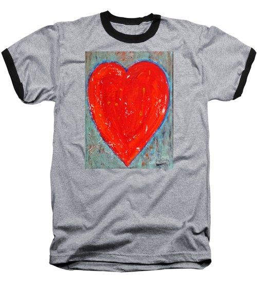 Full Heart Baseball T-Shirt