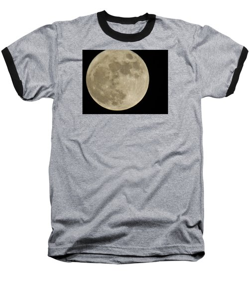 Full Moon 11/25/15 Baseball T-Shirt
