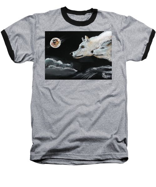 Full Moon Baseball T-Shirt