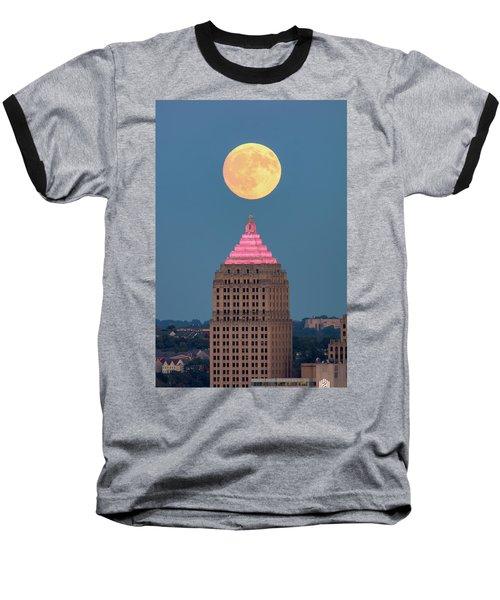Full Moon  Baseball T-Shirt