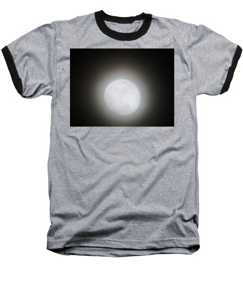 Full Moon Ring Baseball T-Shirt