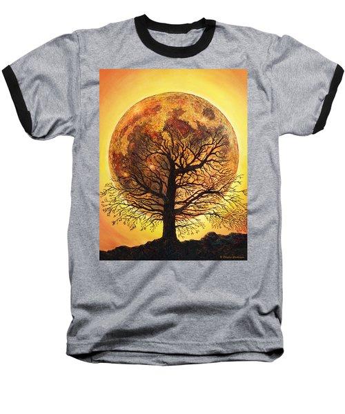 Full Moonrise. Baseball T-Shirt
