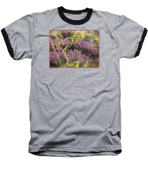 Full Of Hope Baseball T-Shirt by David Norman