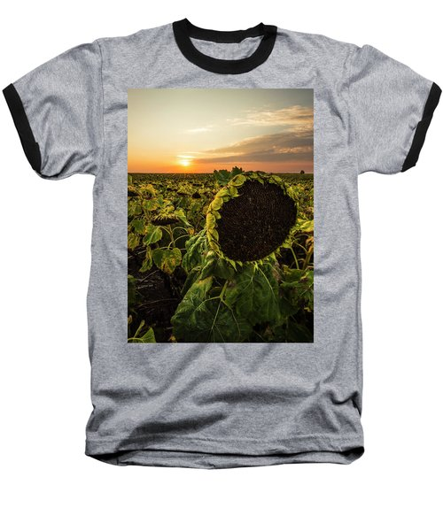 Baseball T-Shirt featuring the photograph Full Of Seed  by Aaron J Groen
