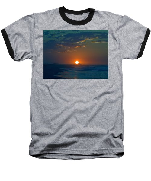 Baseball T-Shirt featuring the photograph Full Sun Up by  Newwwman