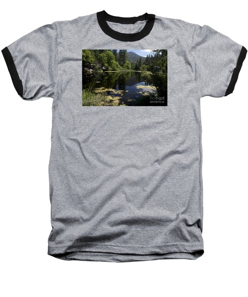 Fulmor Lake Baseball T-Shirt by Ivete Basso Photography