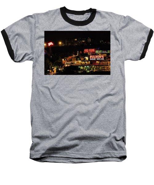 Fultons At Epcot Baseball T-Shirt by Pat Cook