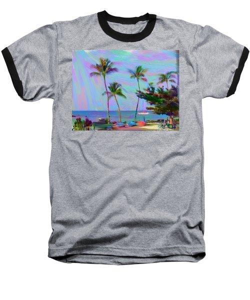 Fun At The Beach Baseball T-Shirt
