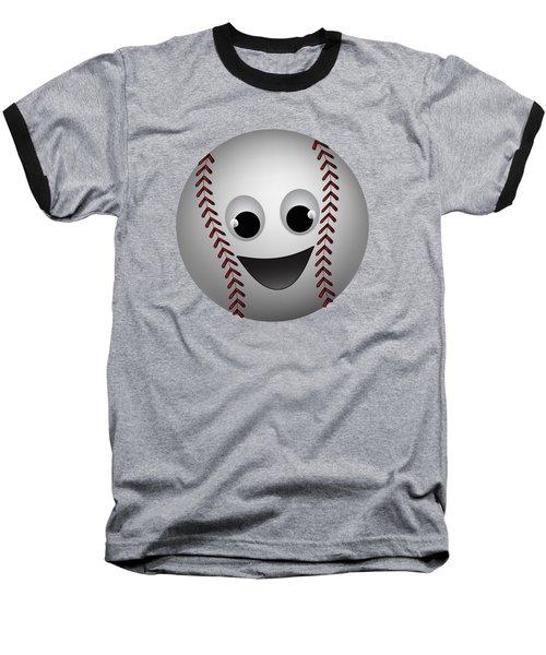 Fun Baseball Character Baseball T-Shirt
