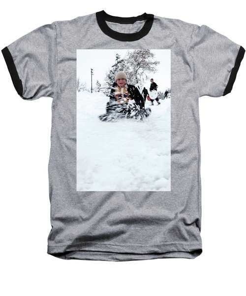Fun On Snow-5 Baseball T-Shirt