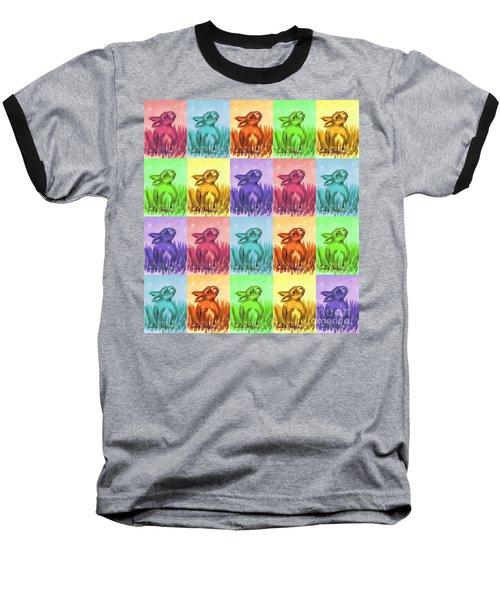 Fun Spring Bunnies Baseball T-Shirt