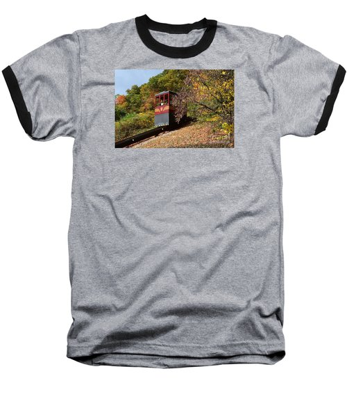 Funicular Descending Baseball T-Shirt