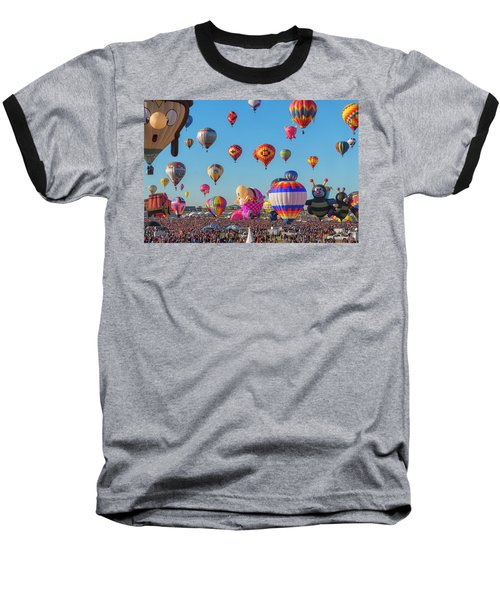 Funky Balloons Baseball T-Shirt