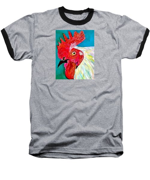 Funky Rooster Baseball T-Shirt