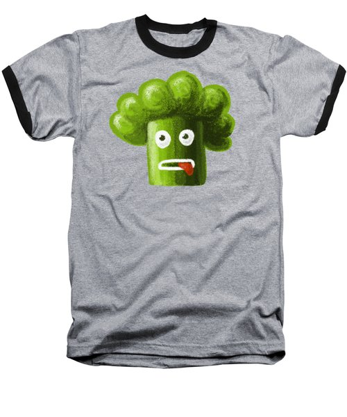 Funny Broccoli Baseball T-Shirt