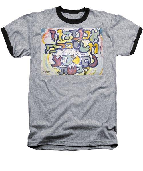 Funnzie Letters Baseball T-Shirt