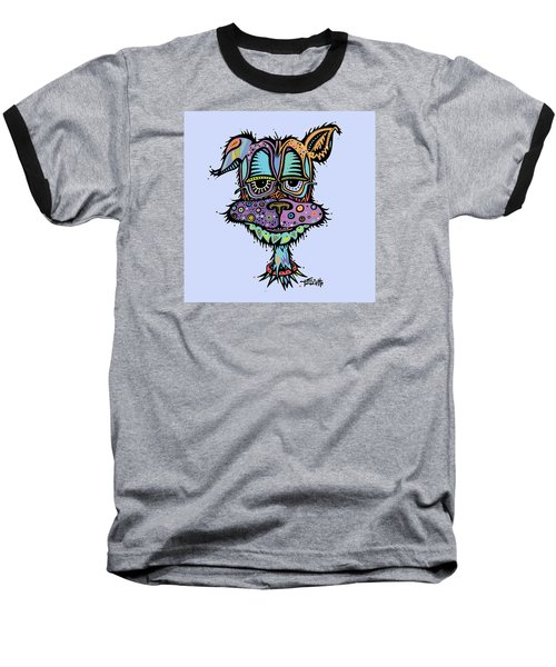 Baseball T-Shirt featuring the drawing Furr-gus by Tanielle Childers