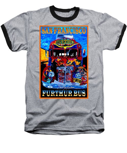 50th Anniversary Further Bus Tour Baseball T-Shirt